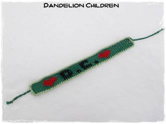 Crochet bracelet - D.C by Esarina