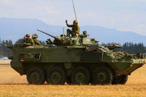 LAV III Light Armored Vehicle by CopperbeltJack