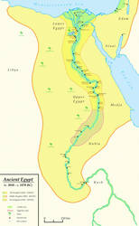 Ancient Egypt (c. 3050 - c. 1070 BC) by Undevicesimus