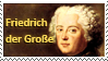 Frederick the Great stamp by Undevicesimus