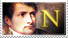 Napoleon Bonaparte stamp by Undevicesimus