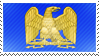 Napoleonic Eagle stamp by Undevicesimus