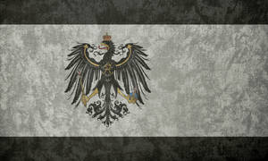 Kingdom of Prussia ~ Grunge Flag (1892 - 1918) by Undevicesimus