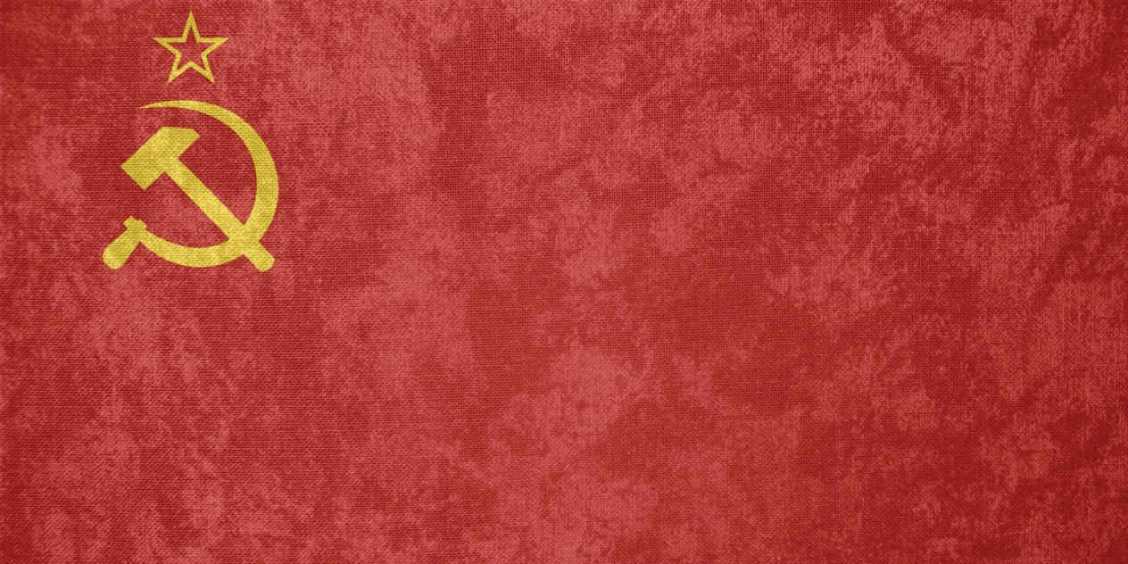 Soviet Union (USSR) ~ Grunge Flag (1923 - 1955) by Undevicesimus