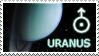 Uranus stamp by Undevicesimus