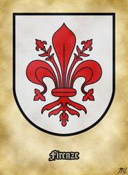 Arms of Florence by Undevicesimus