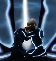 Tron and Alan by infiniteviking