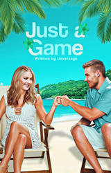 Just a Game, wattpad cover. by larriereligion