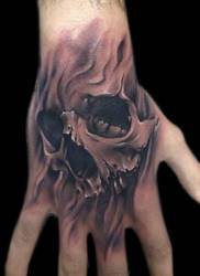 skull by bhbettie