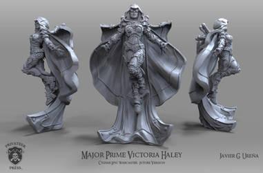 Major Prime Victoria Haley: Future Version by javi-ure