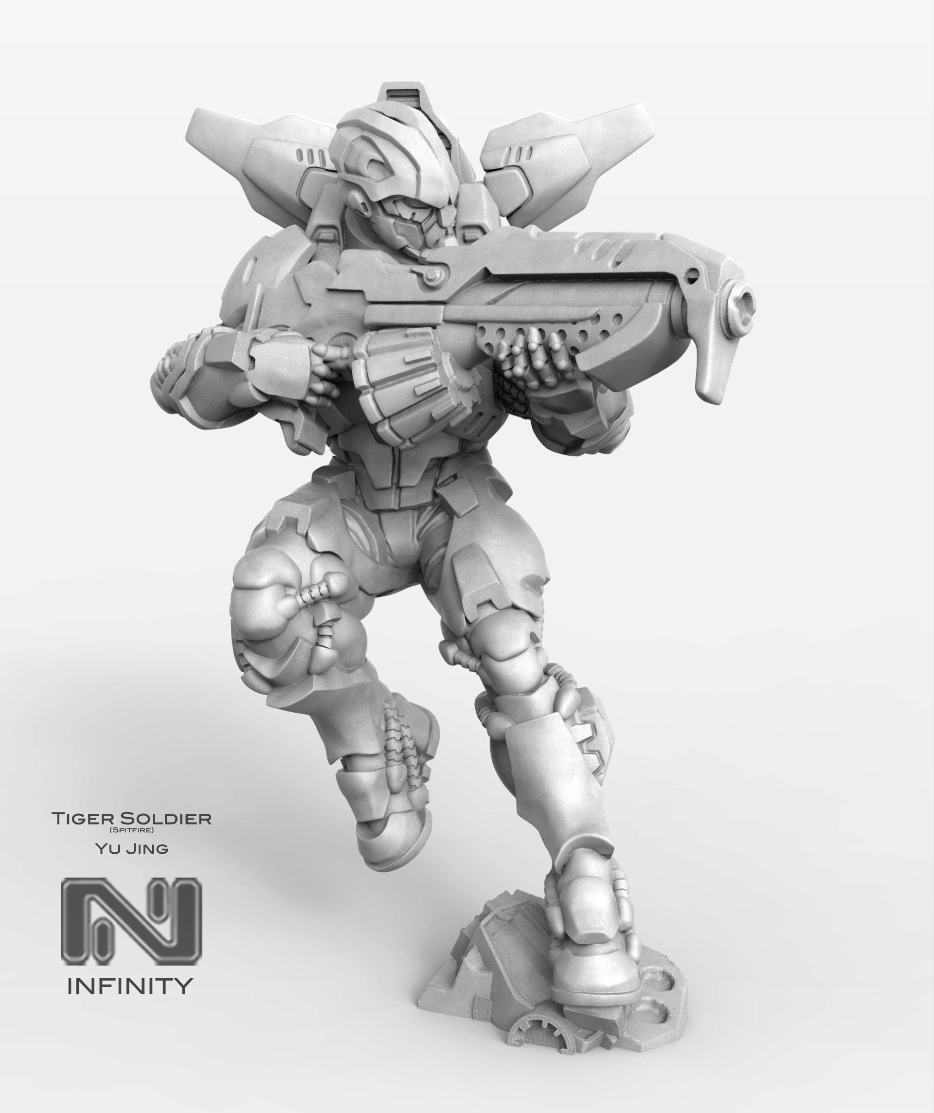Tiger Soldier (Spitfire) by javi-ure
