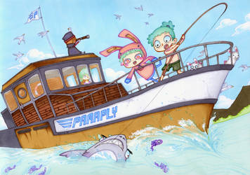 Fishing by Valerei