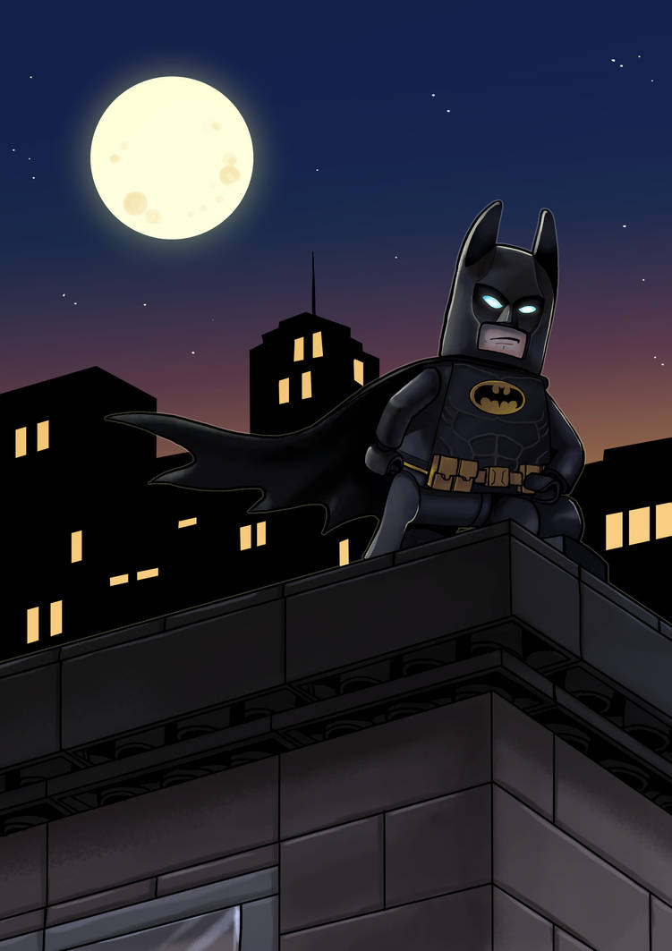 lego Batman by Valerei