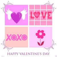 Happy Valentine's Day Card by chenoasart
