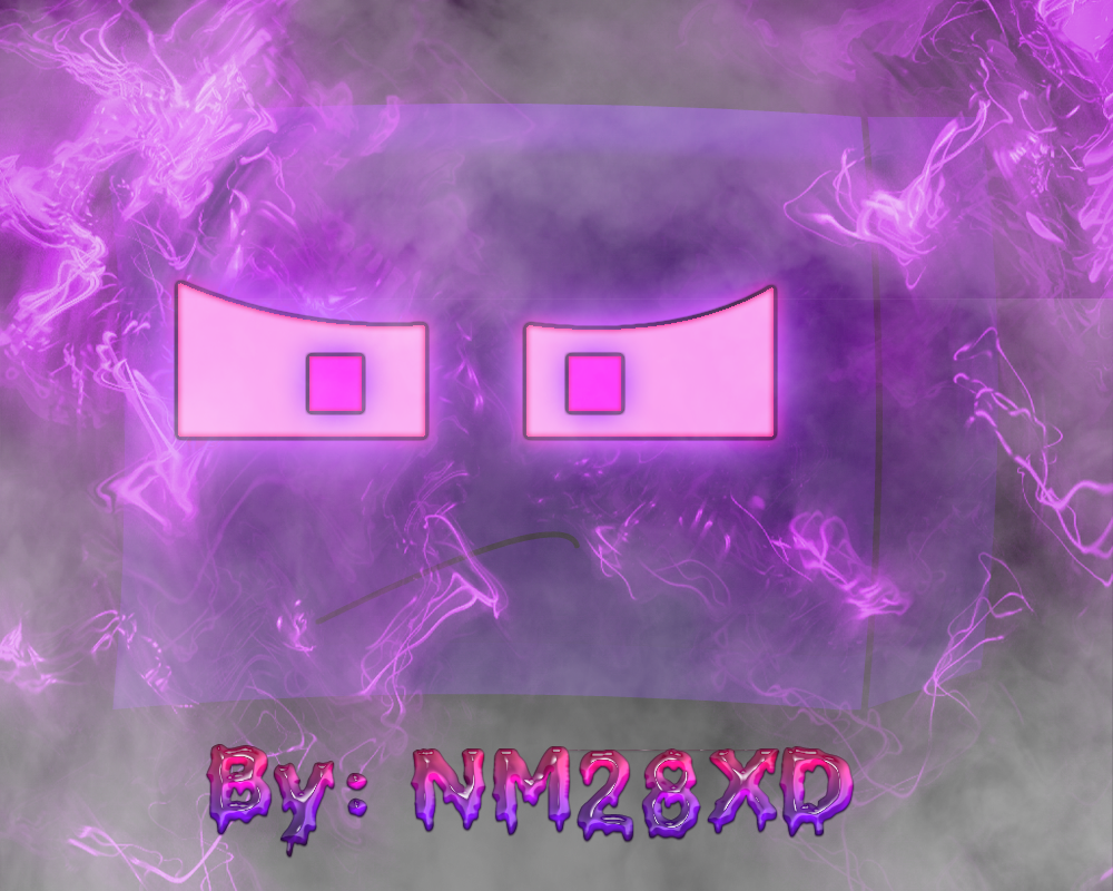 Minecraft Enderman Head Fog By Nm28xd By Ninjaman28xd