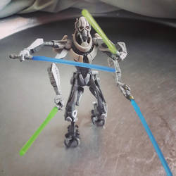 Star Wars - General Grievous - Lightsaber by Ninjaman28xD