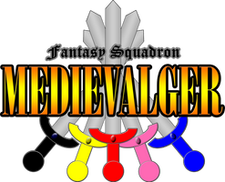Fantasy Squadron Medievalger Title Logo by dandice1222