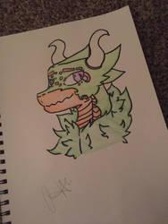 Gale the dragon v2  by darksnow180747