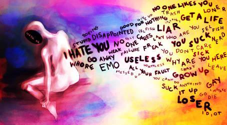 shut up. by ThePinkSparkles