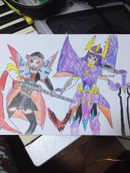 Ruby Rose Ultimate/ Samurai Master X by J0N0S