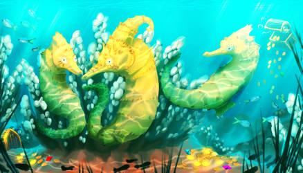 Golden Reef by UrnamBOT