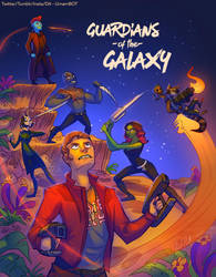Guardians of the Galaxy by UrnamBOT