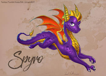 Spyro by UrnamBOT