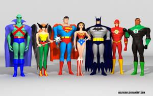 Justice League by joeliveros
