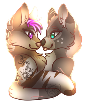 Sisters By Choice by Galaxy-Feathers