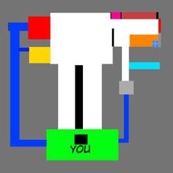 My fnaf 2 custom map by monhamdmuaed33