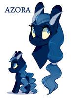 Azora - Demon Pony Offer To Adopt by sararini