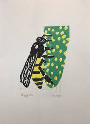 Busy Bee by Artistbanks