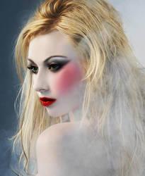 Geisha Makeup by XSerenityxBecomesX