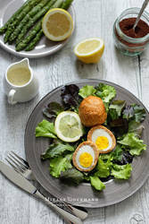 Scotch eggs by MirageGourmand