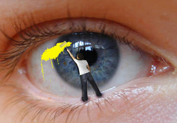 painted eye by Adelino1
