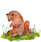 My Little Bear by Hanna-Pirita