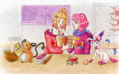 Arttrade: Weihnachtsbaeckerei by susu-chan