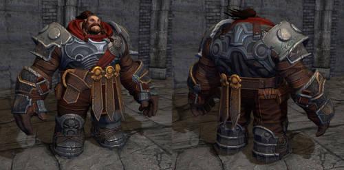 Darksiders II Warrior by GrayGinther