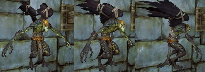 Darksiders II Sychophant by GrayGinther