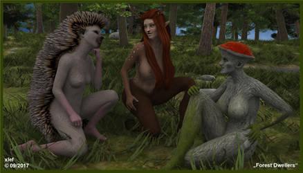 Forest Dwellers by xlef