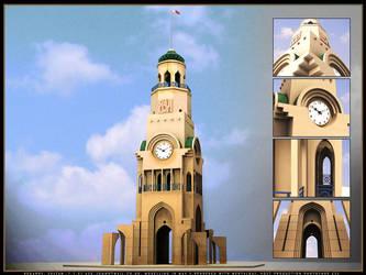 Riffa Clock by sultanbh