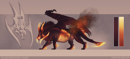 Advent: Fall 2018 - Hellfire by Skollyson