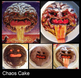Chaos Orb Cake by melell