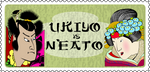 Ukiyo e stamp by QuicheLoraine