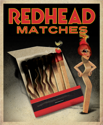 Redhead Matches2 by QuicheLoraine