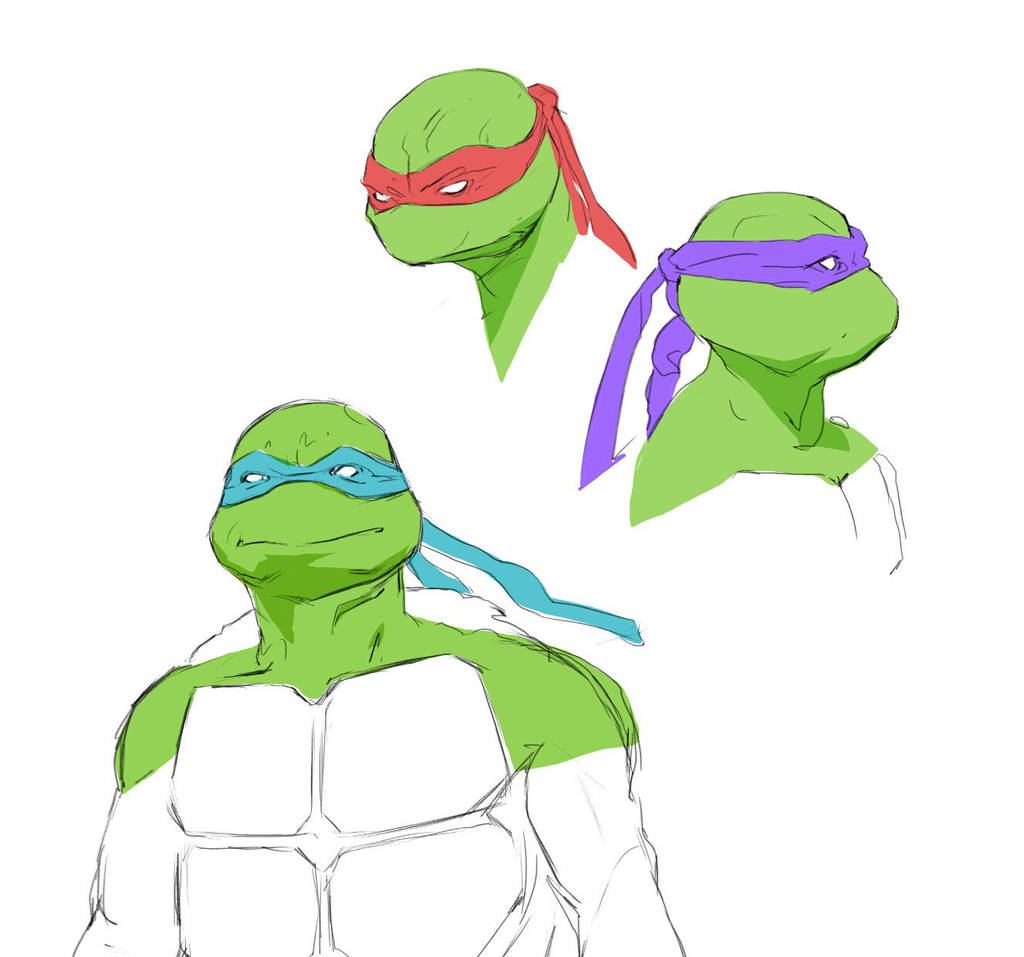 tmnt warmups by drnlds
