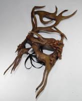 Woodland greenman mask by Shadows-Ink