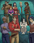 Crew of Serenity by santivill