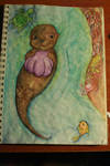 Sea Otter On Your Birthday by avianchild
