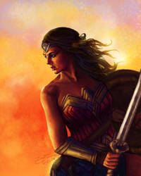 Wonder Woman by SeeminglyCaptivating